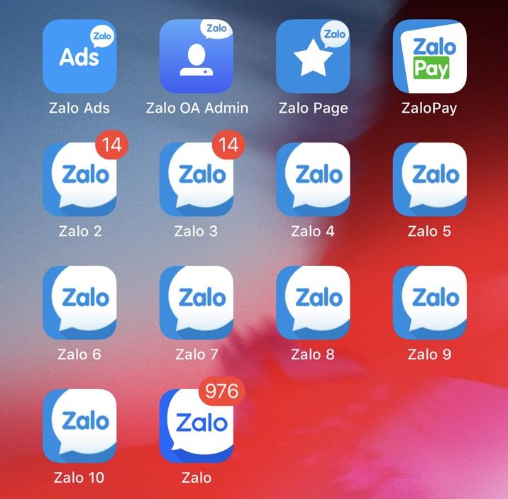 Hướng dẫn đăng nhập nhiều account Facebook, Zalo, Viber trên iPhone