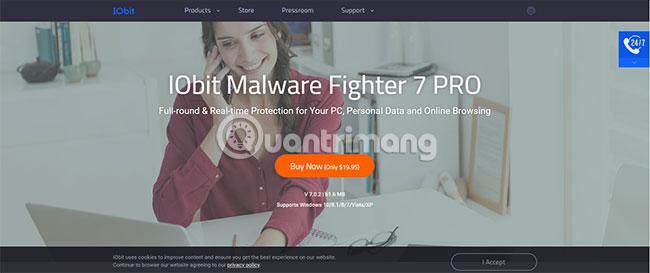 IObit Malware Fighter 7 hiện có cơ sở dữ liệu mối đe dọa lớn hơn 60% được cập nhật hàng ngày