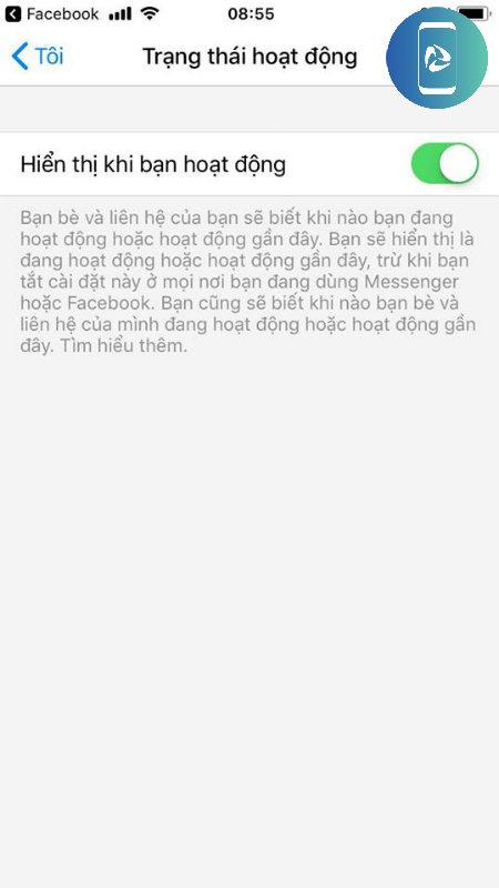 Cách ẩn online Facebook Messenger