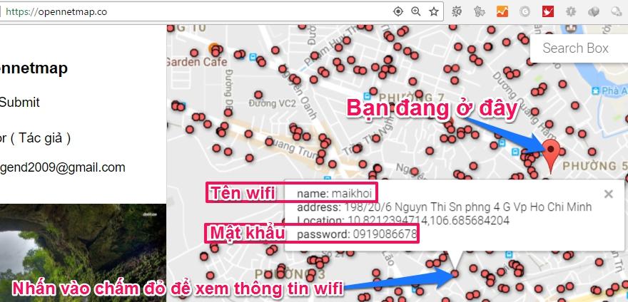 Cách tìm mật khẩu wifi mọi nơi cực kì đơn giản