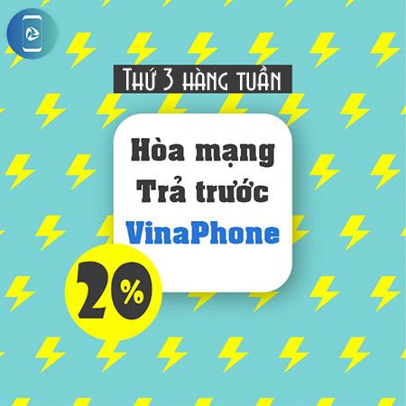 Khuyến mãi hòa mạng trả trước VinaPhone