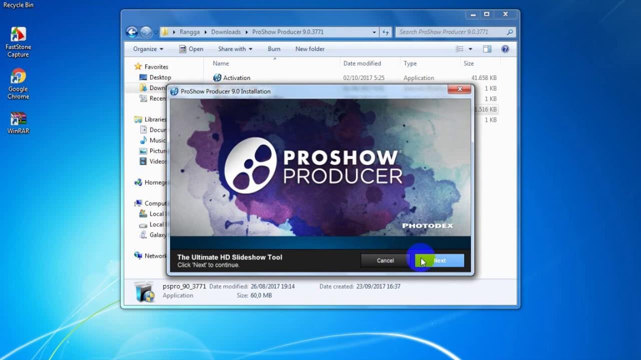 Hướng dẫn cài đặt Proshow Producer 9