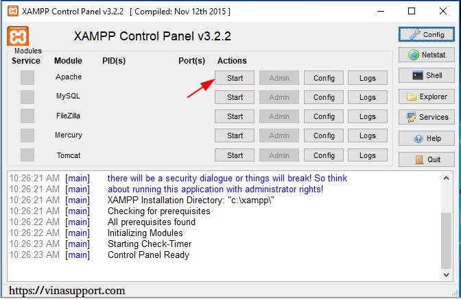 Cách cài đặt và sử dụng XAMPP trên Windows và Linux 2020